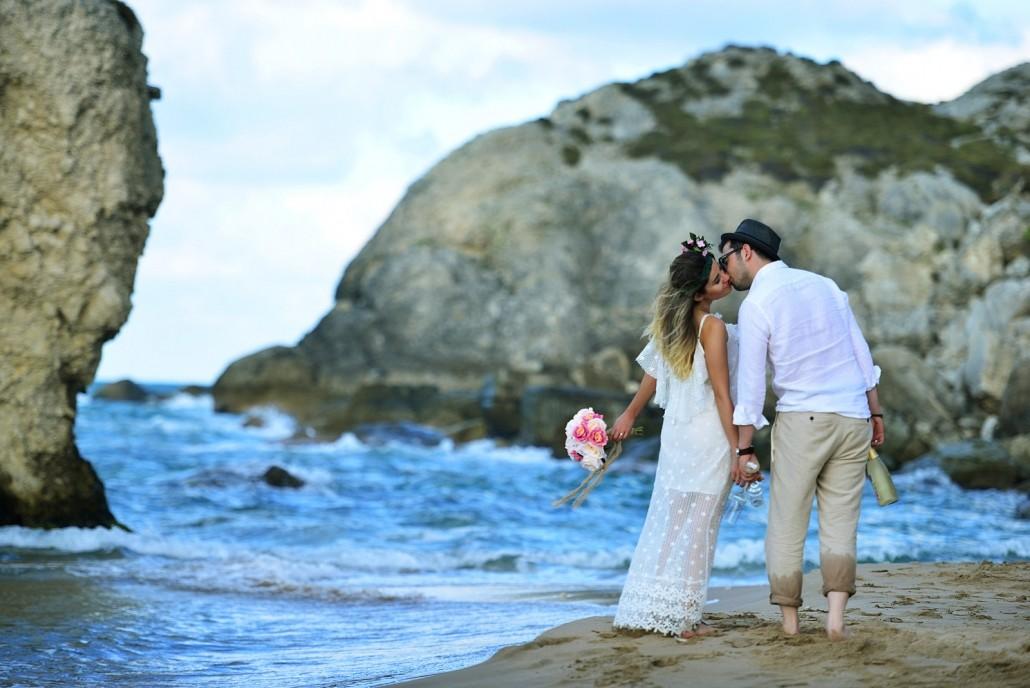 Wedding to the beach