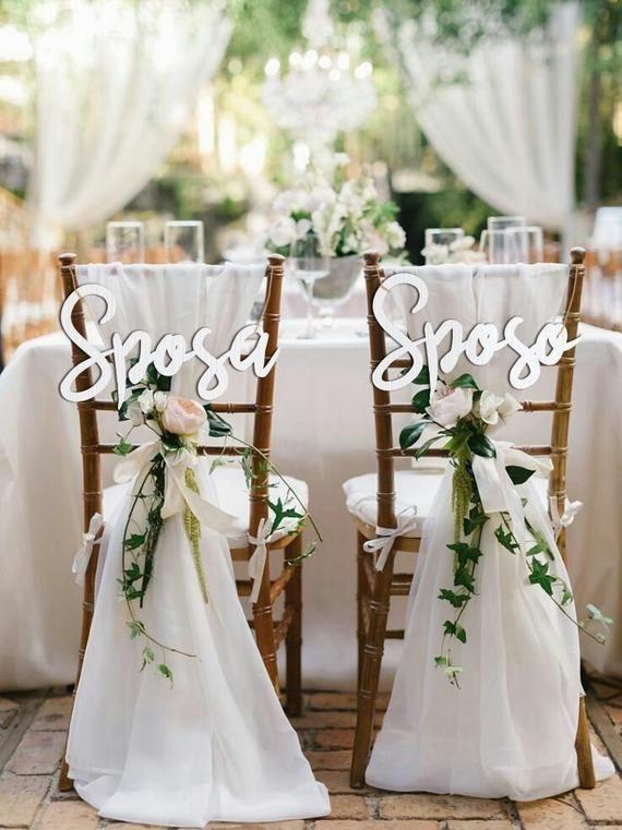 tavoli al matrimonio