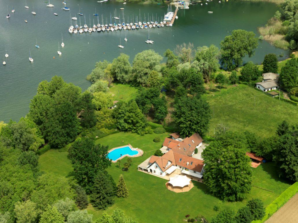 Matrimonio intimo sul lago maggiore